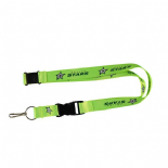 Dallas Stars Lanyard, Green Neon